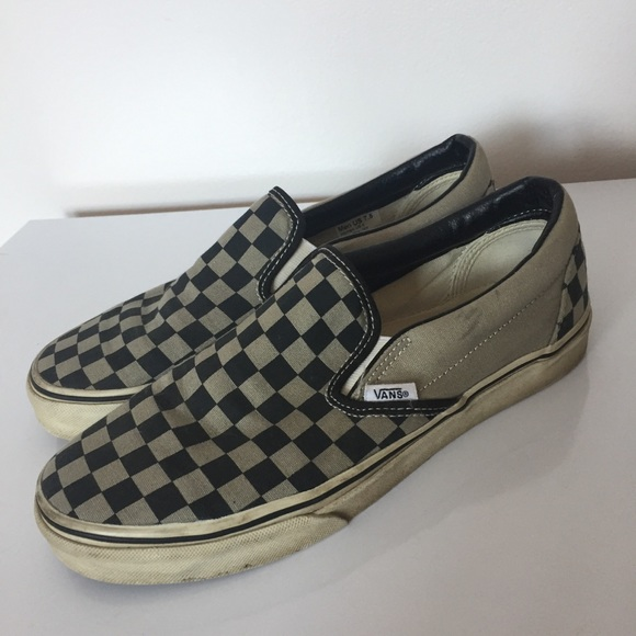 4cc003e8844d25 Vans Vans Shoes Tan Poshmark Black Checkerboard UxFq6wTvU